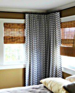 chevron drapes