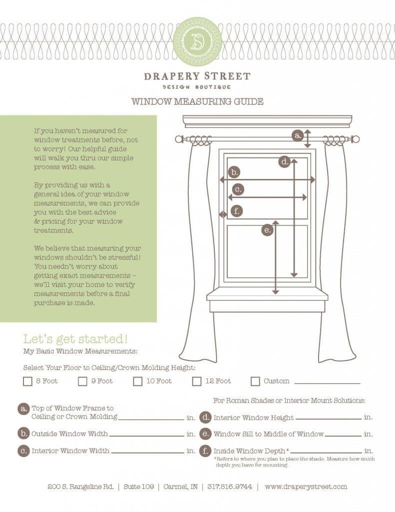 How To Measure Windows For Drapes And Window Treatments