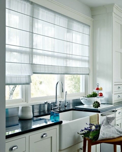 The Beauty Of Hunter Douglas Sheer Shades Drapery Street