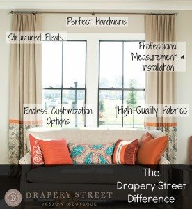 customized window treatments