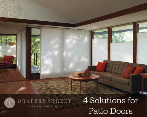 Window Treatments For Sliding Glass Doors Drapery Street