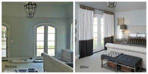 Bedroom Window Treatment Makeover - Drapery Street