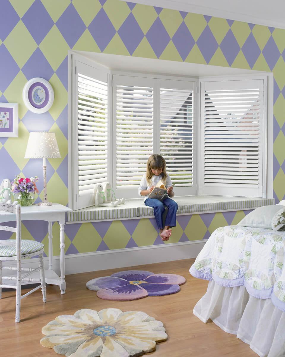 Black Bedroom Blinds Kids Bedroom Sets Boys Pictures Of Bedroom Wallpaper Interior Design Bedroom Colors: Hunter Douglas Shades And Blinds In A Nursery Or Kid's