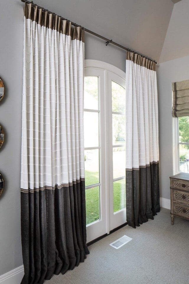 Seamed drapes