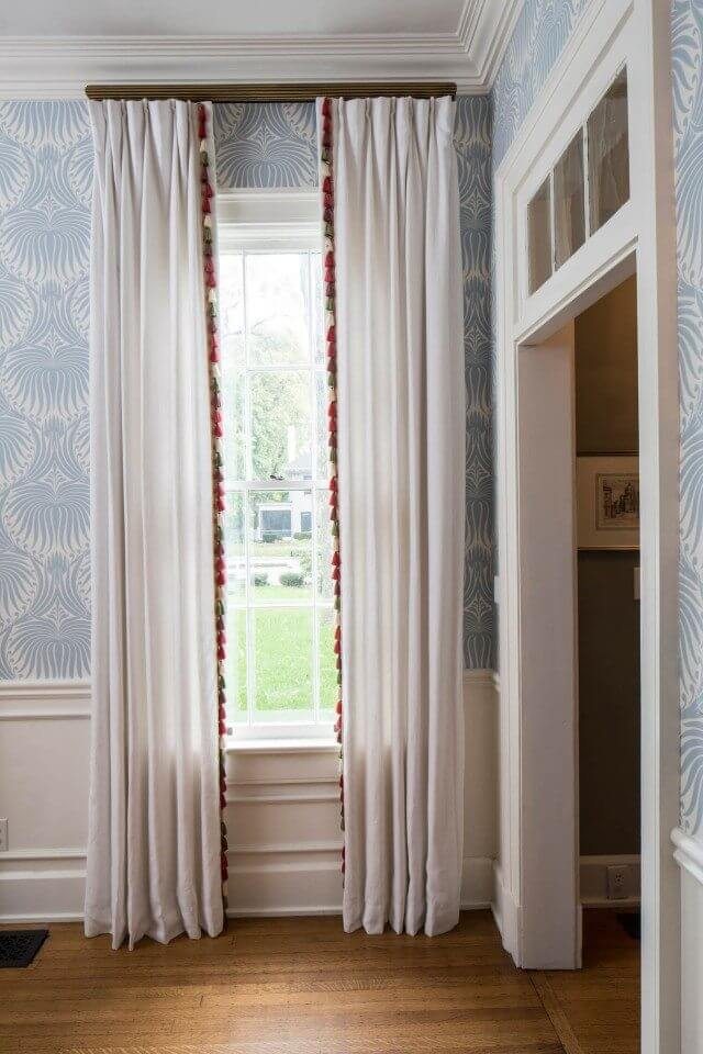 Lined drapes - window treatments that improve temperature control
