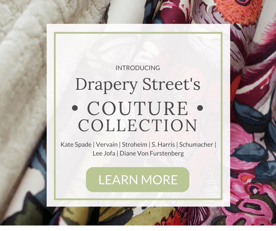 Couture Fabric Collection at Drapery Street