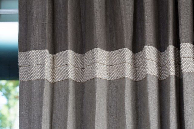 Close up of Seamed Drape
