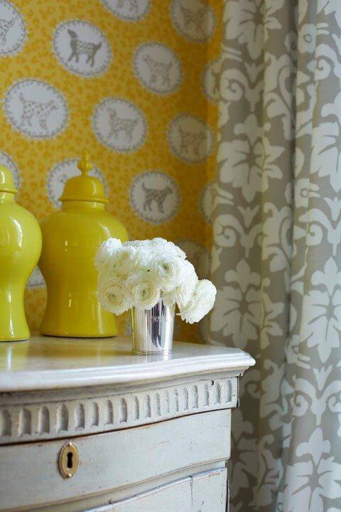 Dana Gibson drapery fabric Noveau Palazzo