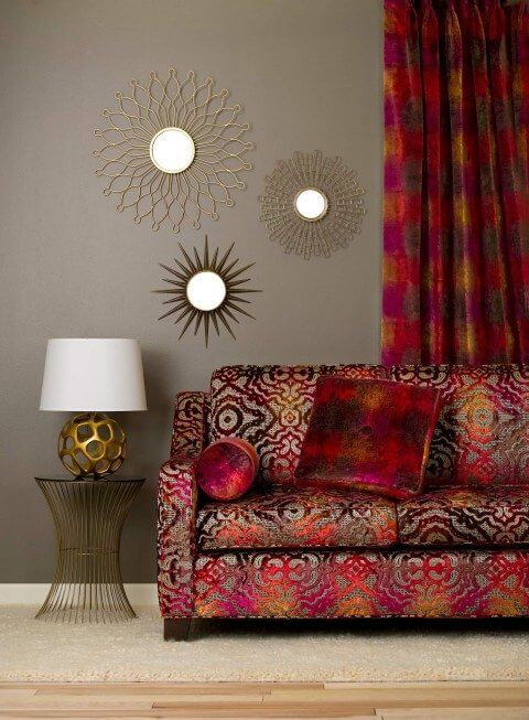 S Harris - Fabric Hologram / Couch fabric - Fantasia