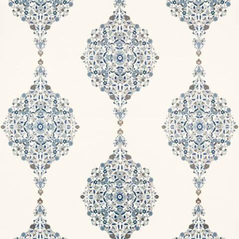 Schumacher Mehndi Linen Print