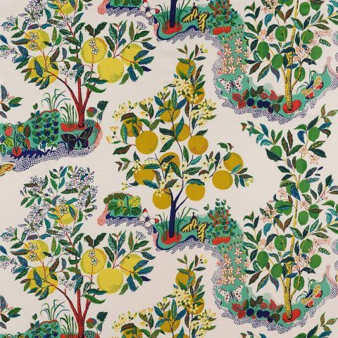 Citrus Garden - Schumacher Fabric
