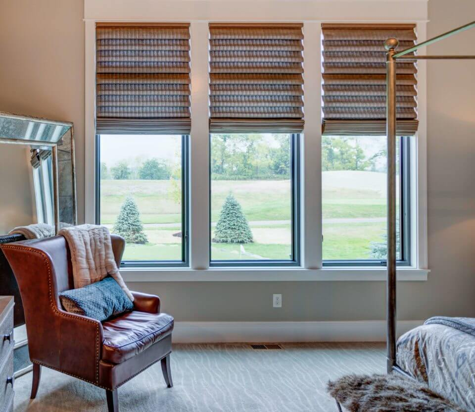 Window treatments that don't hide trim