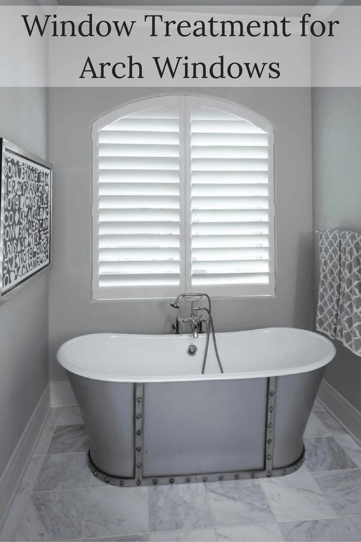 Window Treatment Ideas For Arch Windows Drapery Street