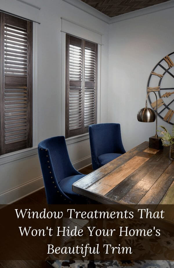 Window Treatments That Don T Hide Trim Drapery Street