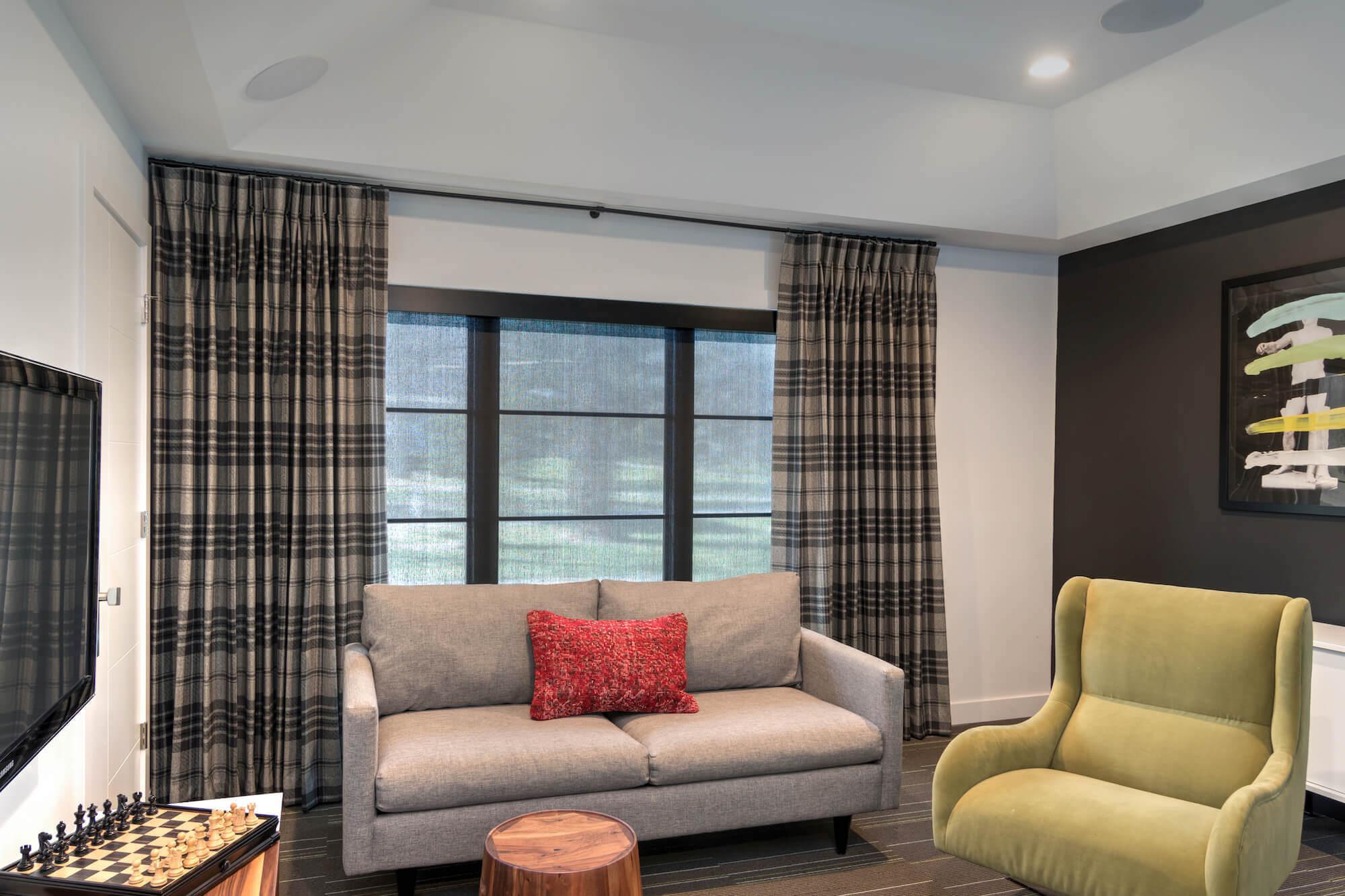 Window Treatments for Black Window Frames