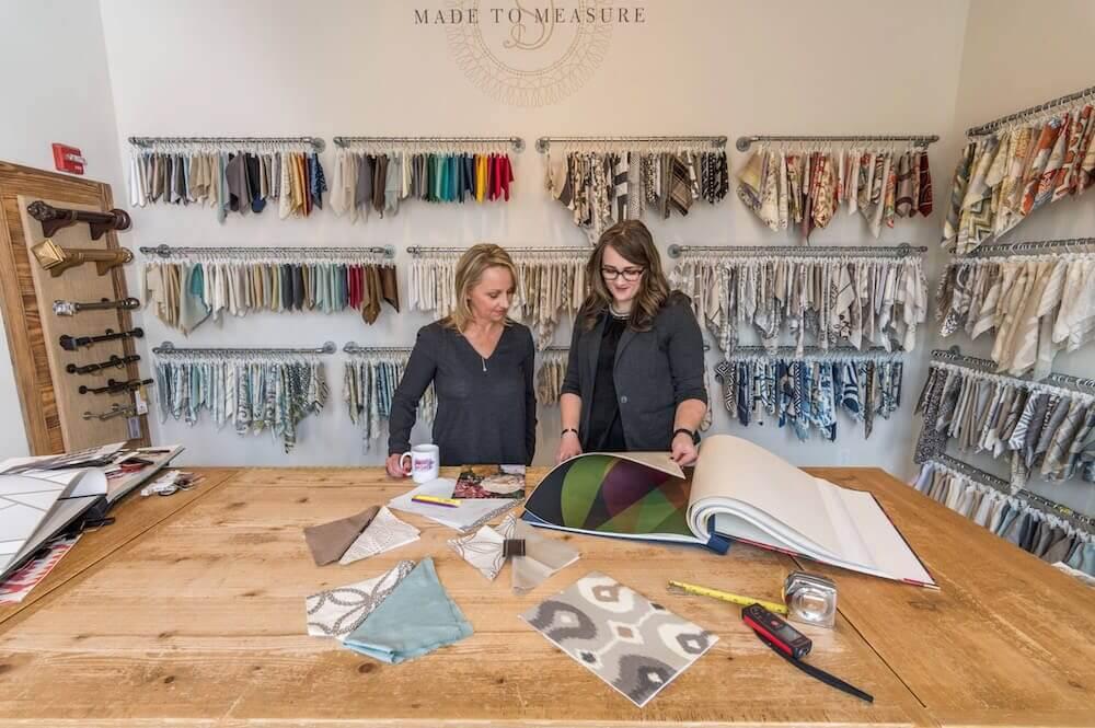 Design consultation at Drapery Street