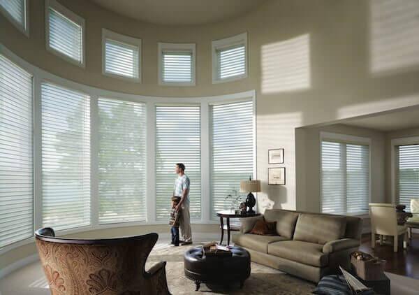 Hunter Douglas Silhouette and Nantucket window shadings
