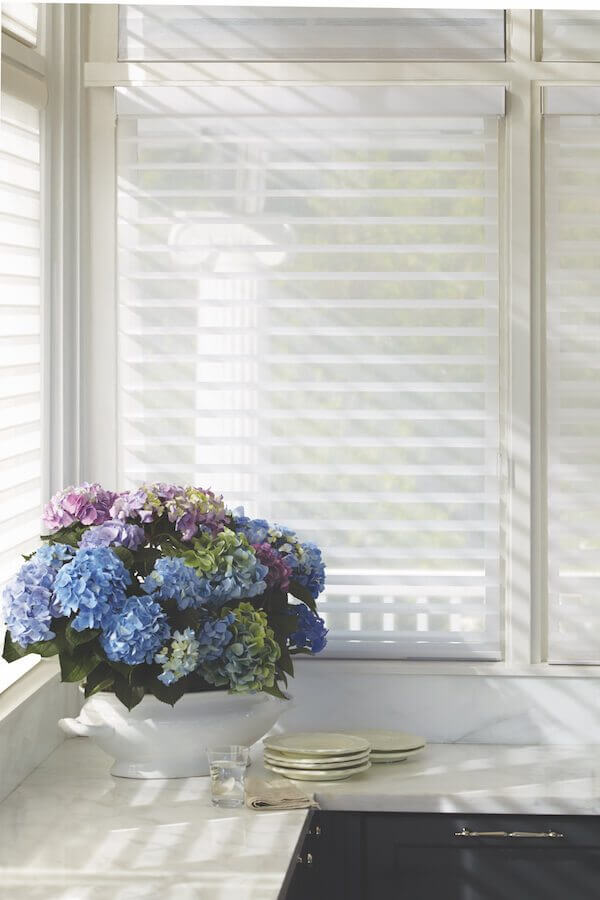 Hunter Douglas Silhouette and Nantucket window shadings