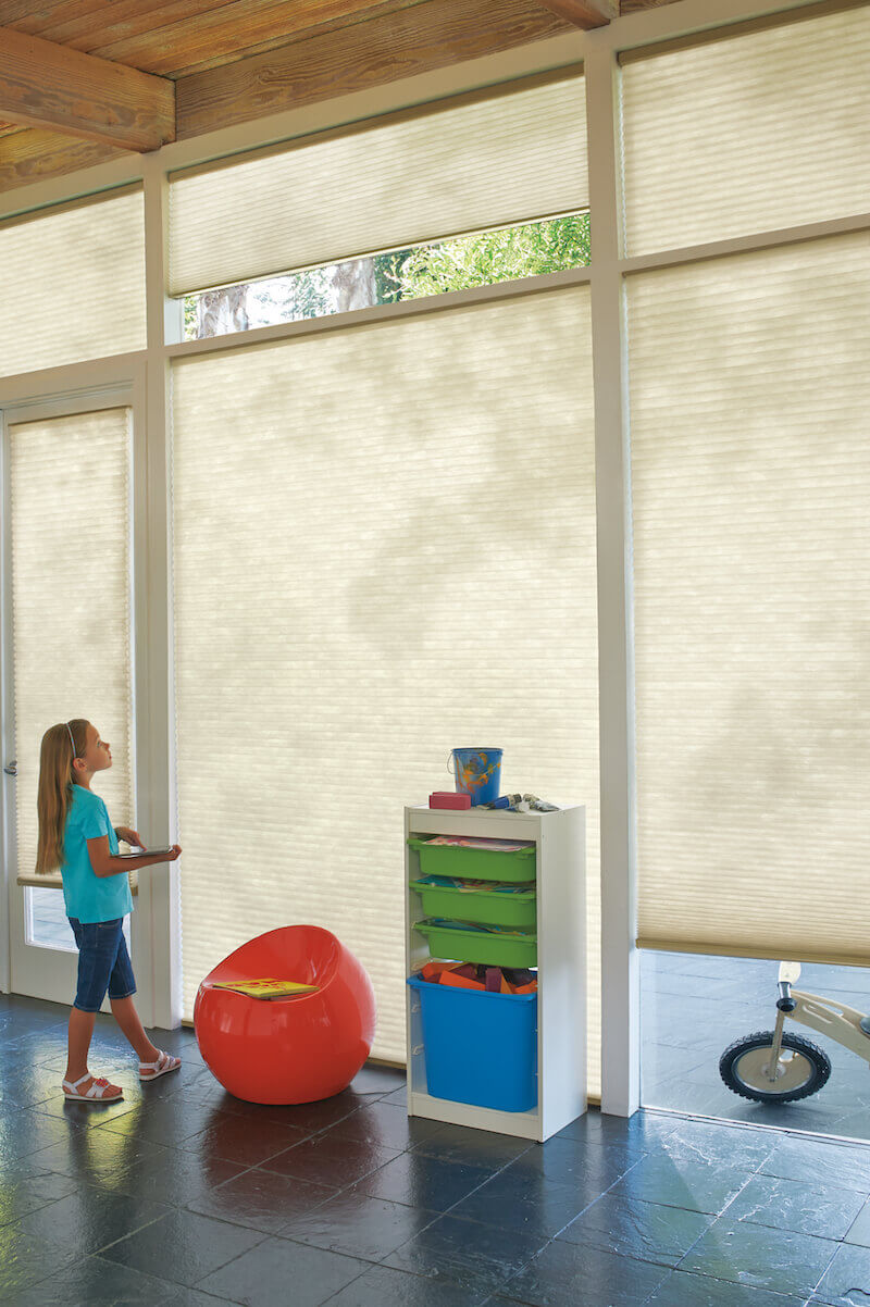 Motorized blinds and shades