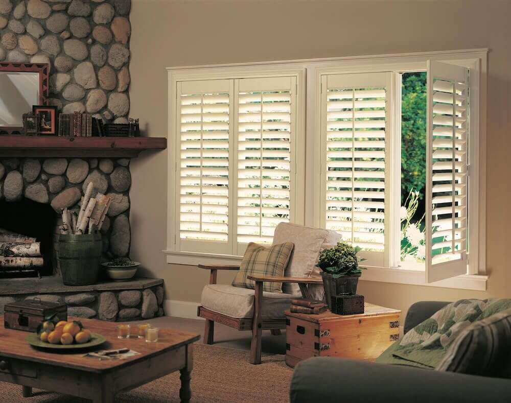 Plantation Shutters: Hunter Douglas NewStyle