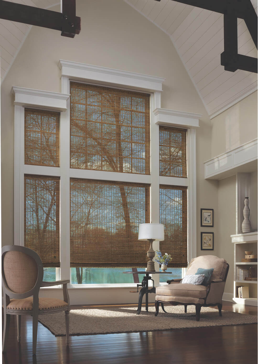Drapery Street Projects - Two Story Window Treatments