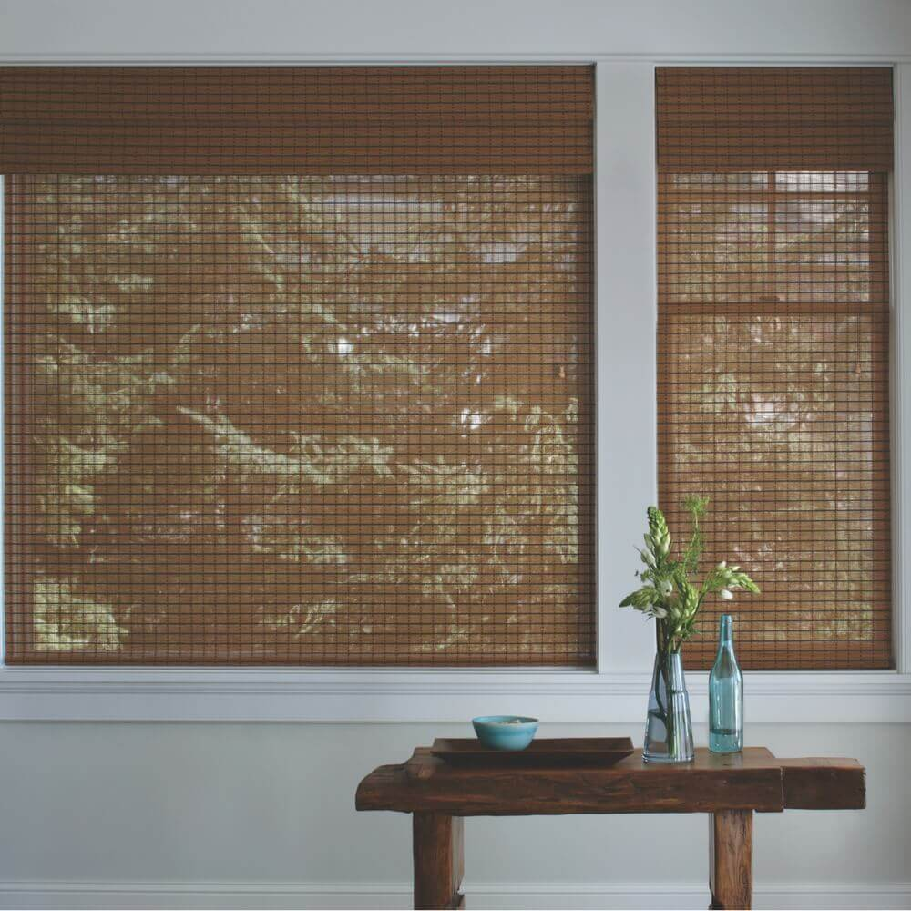 Woven Wood Shades Light Control