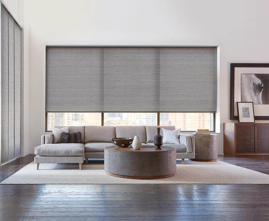 Living Room Window Treatment Inspiration Modern