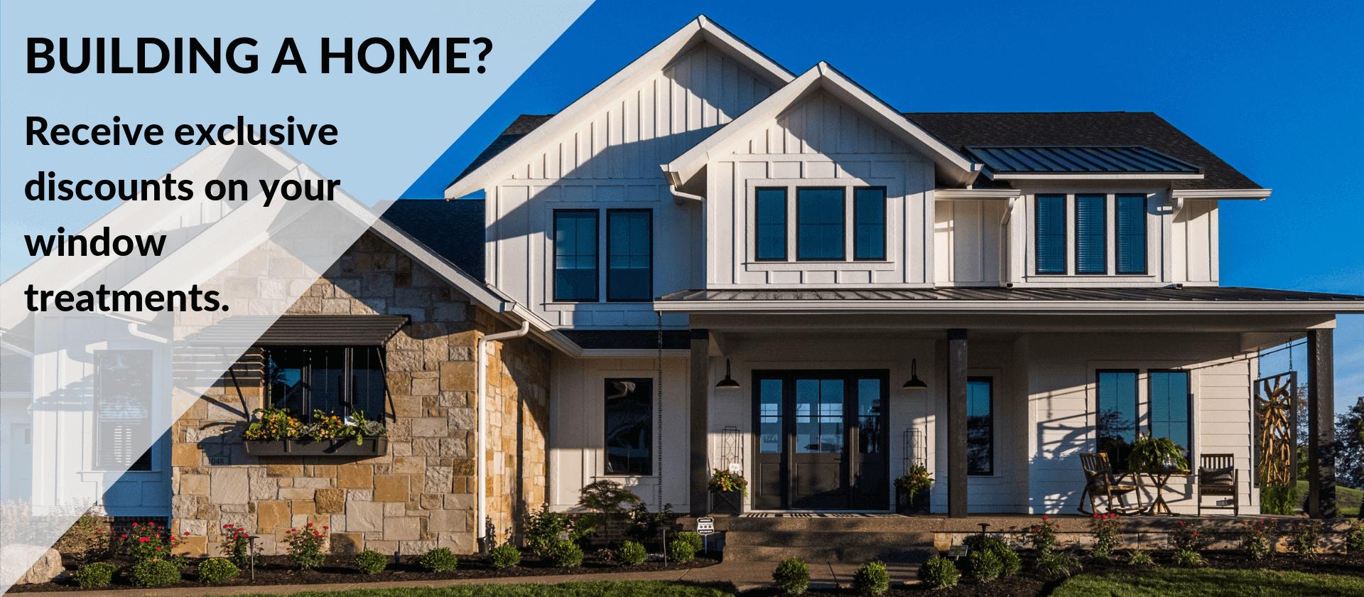 Home Builder Discount Window Treatments