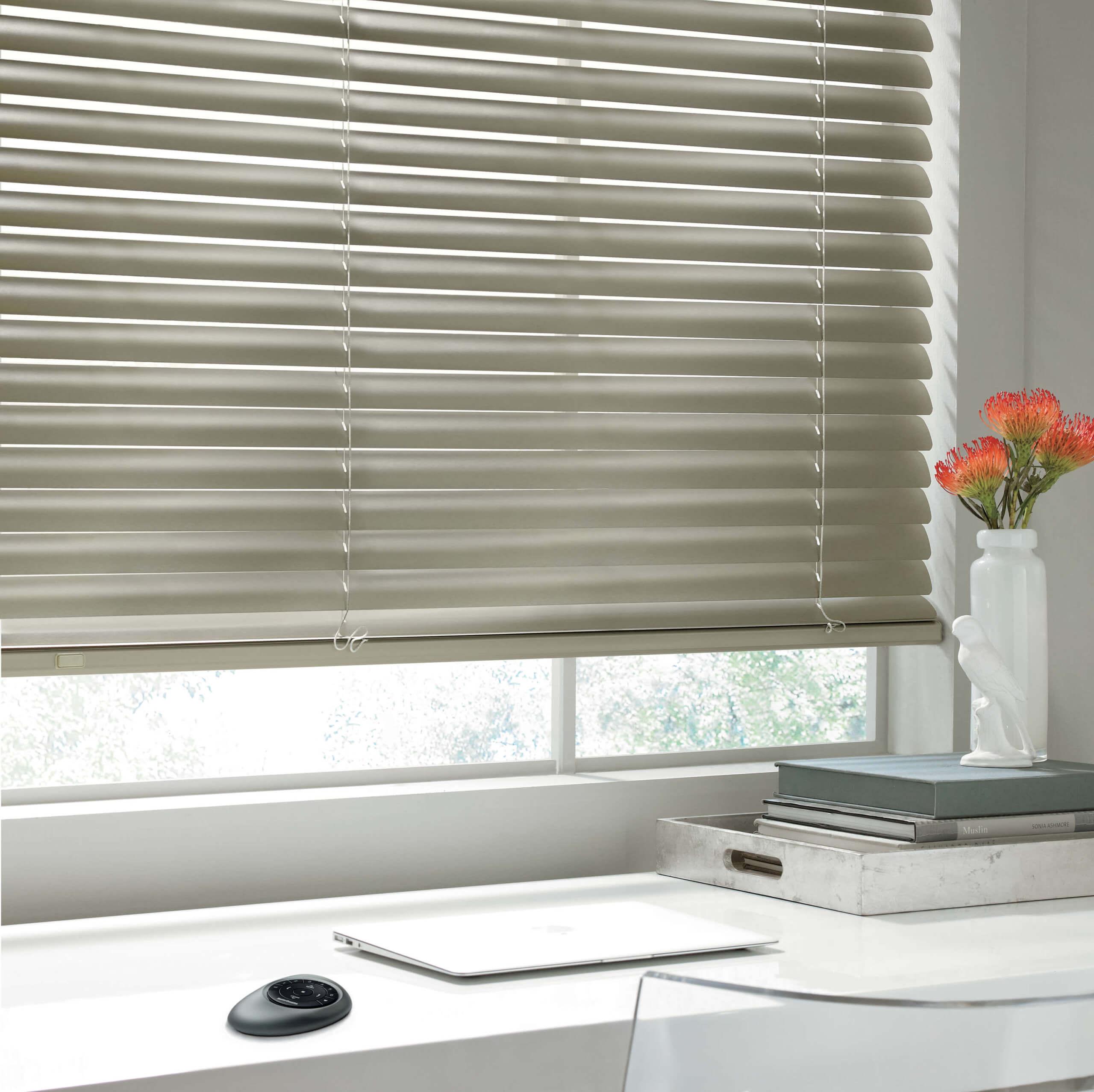Motorized Window Treatment Options: Motorized blinds