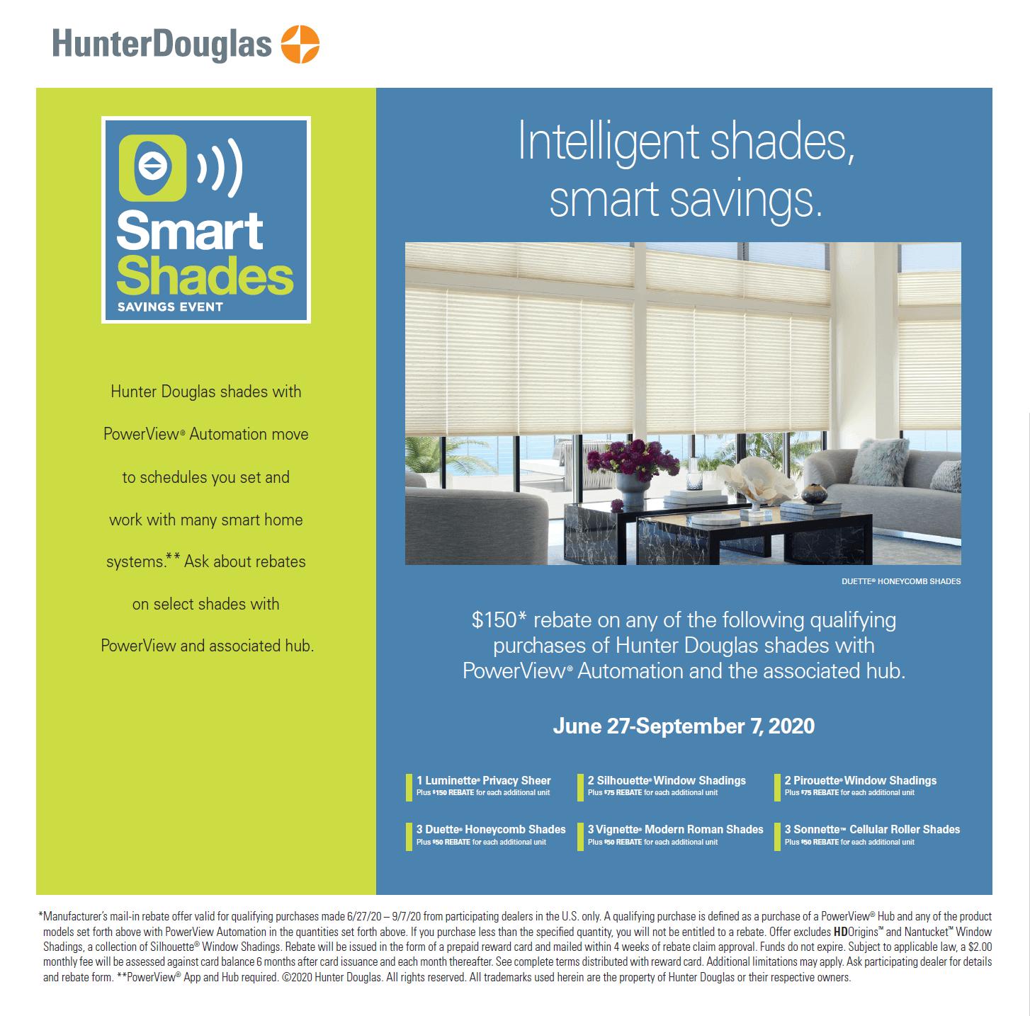 Hunter Douglas Energy Smart Style
