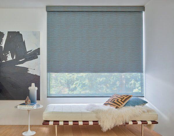 Window Treatment Innovations from Hunter Douglas and Drapery Street: Designer Roller Duolite® Shades