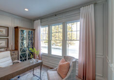 Window Treatments for an Inspired Home Office